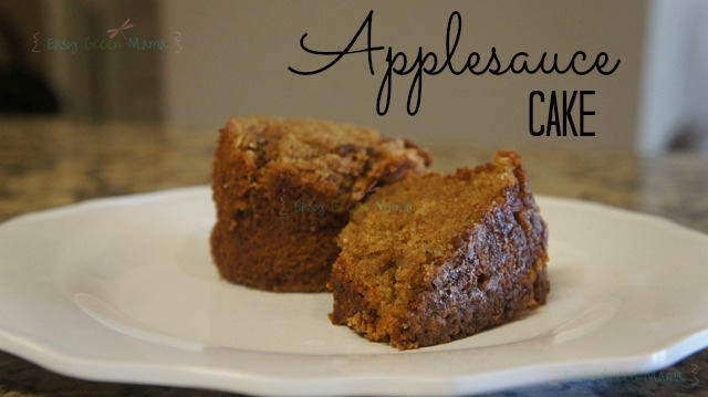 Easy Applesauce Cake Applesauce cake recipe