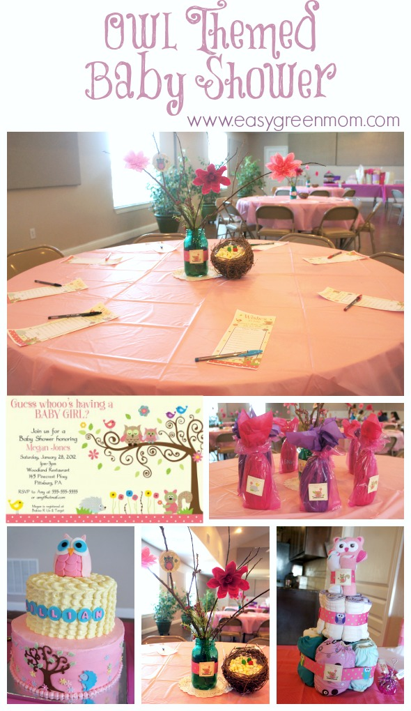 pics photos owl themed baby shower ideas