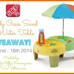 Step2 Shady Oasis Sand & Water Play Table Giveaway