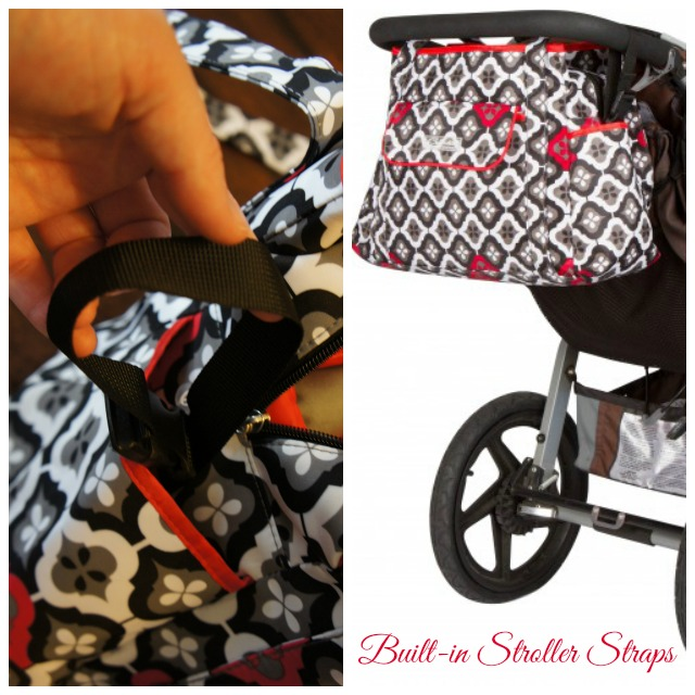 diaper bags with stroller straps groopdealz all around diaper bag w stroller shoulder. Black Bedroom Furniture Sets. Home Design Ideas