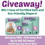 BamboNature Giveaway Event new dates