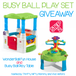 Step2 Busy Ball Play Set Giveaway!